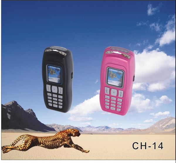 Cheetah Stun Gun Cell Phone Flash Light